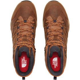 The North Face Hedgehog Hike II WP Mid Shoes Men timber tan/india ink